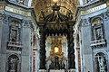 Altare della Basilica di San Pietro, città del Vaticano (Roma) - panoramio (1).jpg