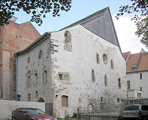 Erfurt - Old synagogue, the oldest in Europe (1094)