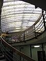 Alte Universitätsbibliothek in Freiburg, heute Kollegiengebäude IV, Aufgang zum Lesesaal der Verbundbibliothek.jpg