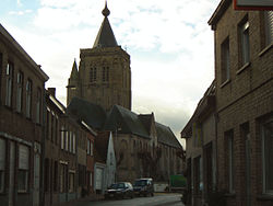 Saint Audomar Church in Alveringem