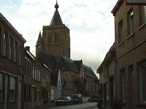 Alveringem - Image: Alveringem Sint Audomaruskerk