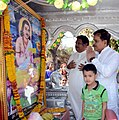 Ambigara chouwdayya jayanti procession mp suresh angadi.jpg