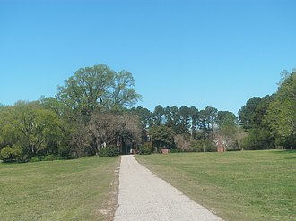 National Register of Historic Places listings in James City County, Virginia - Image: Amblers from the front walk