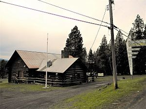 National Register of Historic Places listings in Latah County, Idaho - Image: American Legion Cabin 2 NRHP 86002197 Latah County, ID