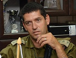 Amit Fisher.Ashton B. Carter first day in Israel July 21, 2013 130721-M-EV637-354 (9335698013) (cropped).jpg