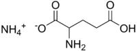 Image illustrative de l'article Glutamate d'ammonium