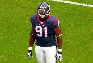 Amobi Okoye - Okoye in 2007 while with the Texans