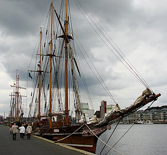 Camper and Nicholsons - Amphitrite in Flensburg, Germany, in 2008