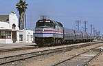 Amtrak San Diegan at Oceanside station, June 21, 1985.jpg