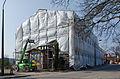 Amtshaus Bad Doberan während der Sanierung 2014.jpg