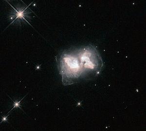 Protoplanetary nebula - Image: An interstellar butterfly