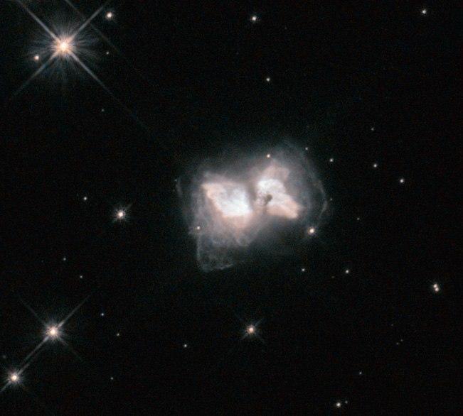 An interstellar butterfly
