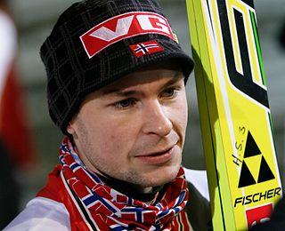Norwegian former ski jumper