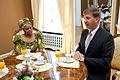 Andrejs Klementjevs tiekas ar Zambijas Republikas vēstnieci (5706018321).jpg