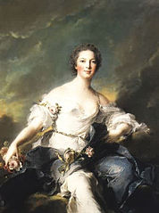 Marquioness of Baglion as Flora