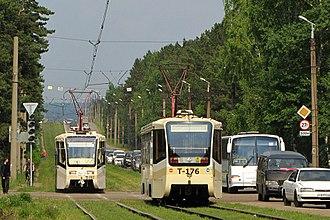 Angarsky District - Angarsky Tramway, Angarsky District