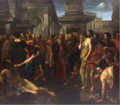 Angelo Caroselli - Christ and the adultress.png