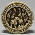 Anglo-Norman - Game Piece with Enthroned Figure - Walters 71141.jpg