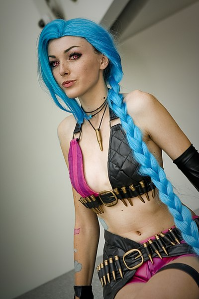 Archivo:Anime Expo 2015 - Jinx.jpg