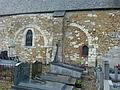 Antheny (Ardennes) Église Saint-Remy, arcs, vestiges mur de la première église XIIème s..JPG