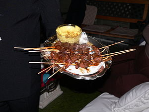 Peruvian anticuchos