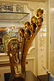Antique brass instrument on display at the Musical Instrument Museum.jpg