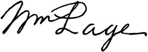 William Page (painter) - Image: Appletons' Page William signature