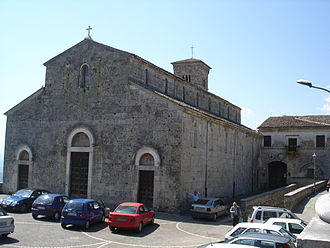 Ferentino - The Cathedral of Ferentino.