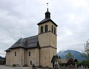 Arâches-la-Frasse - Image: Arâches la Frasse Église de La Frasse