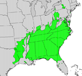 Aralia spinosa map.png