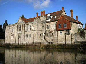 Kentish ragstone - Archbishops Palace, Maidstone by Stephen Nunney