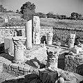 Archeologische vondsten, waaronder beeldhouwwerk en delen van zuilen, opgesteld , Bestanddeelnr 255-1463.jpg