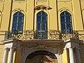 Archiepiscopal Palace, wrought iron balcony, 2019 Kalocsa.jpg