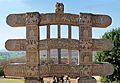 Architraves - Rear Side - West Gateway - Stupa 1 - Sanchi Hill 2013-02-21 4484-4487.JPG