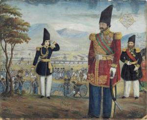 Ardashir Mirza - Ardashir Mirza reviews his troops before a battle