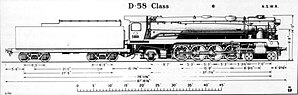 New South Wales D58 class locomotive - Image: Arhs 58 class