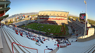 Arizona Stadium - Image: Arizona Stadium Fisheye