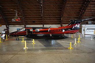 Learjet 23 - Learjet 23 at the Arkansas Air & Military Museum in Fayetteville, Arkansas