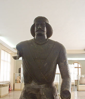 Parthian art - A bronze statue of a Parthian nobleman from the sanctuary at Shami in Elymais