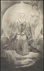 Frontispiece voor Le Solitaire de la Lune van François de Curel
