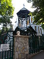 Armenian Catholic Pastoral Care. Bell tower - Budapest District XI., Orlay St., 6.JPG