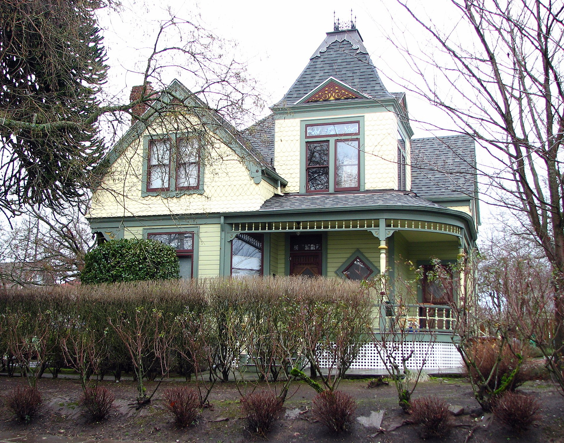 Alfred J. and Georgia A. Armstrong House