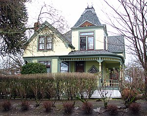National Register of Historic Places listings in Northeast Portland, Oregon - Image: Armstrong House Portland Oregon