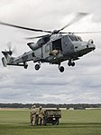Army Air Corps Reserves train with Wildcat helicopters MOD 45164390.jpg