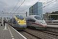 Arnhem Eurostar 4013-4014 en ICE3m 4684 (27675344505).jpg