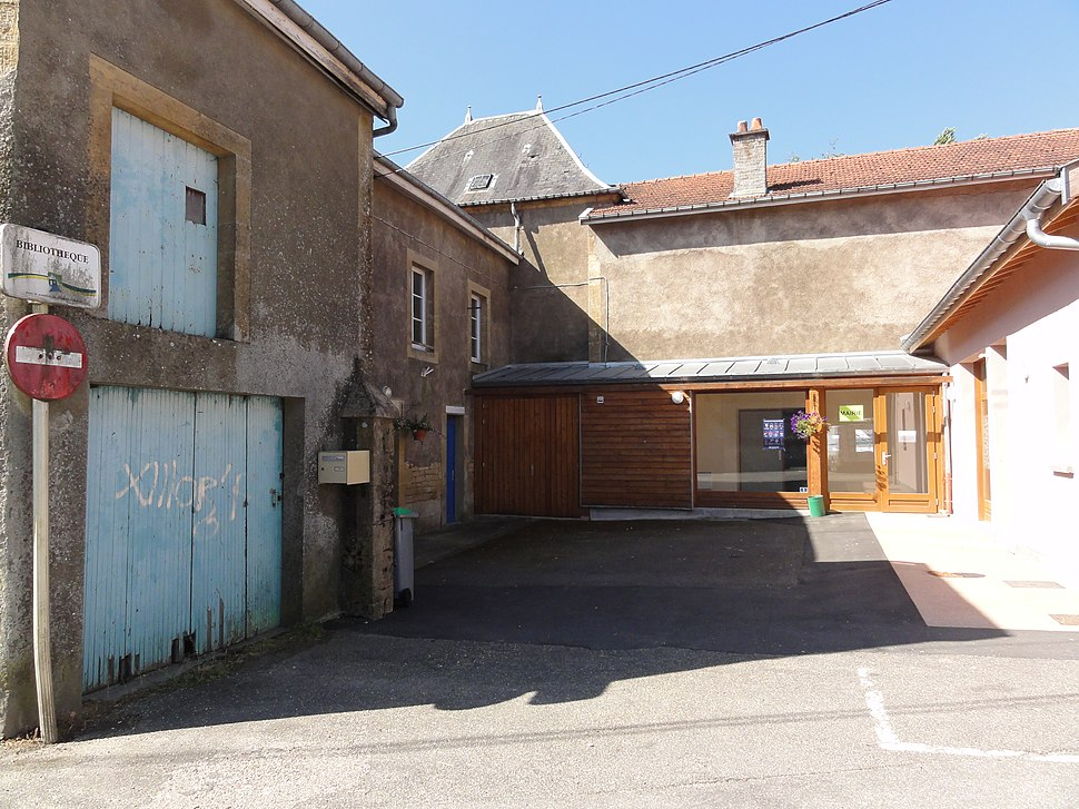 The town hall in Arrancy-sur-Crusne