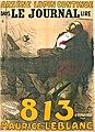 Arsène Lupin - 813 - affiche de Poulbot.jpg