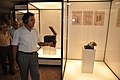 Arun Goel With NCSM Dignitaries Visit Objects In CRTL Archive Exhibition - NCSM - Kolkata 2018-09-23 4448.JPG
