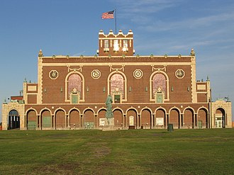 Asbury Park Convention Hall - Image: Asbury Convention Hall West View