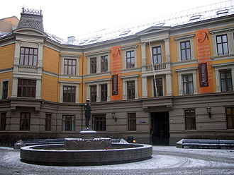 Aschehoug - Aschehoug's main office at Sehesteds plass, Oslo.